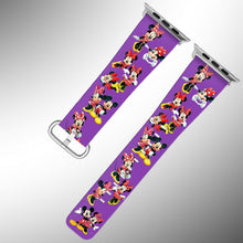 Load image into Gallery viewer, Mickey Minnie Mouse Apple Watch Band 38 40 42 44 mm Series 1 - 5 Wrist Strap 7