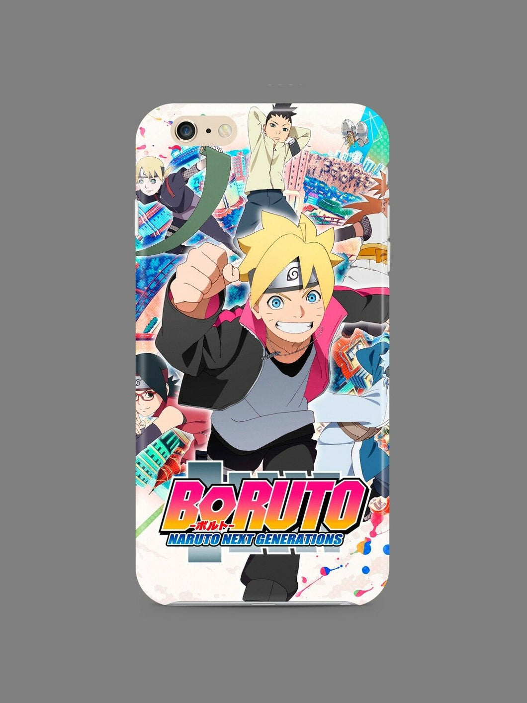 Boruto Next Generations Iphone 4s 5s 5c SE 6 6s 7 8 X XS Max XR Plus Case 04