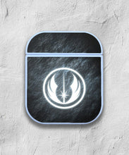 Load image into Gallery viewer, Star Wars Jedi Order Logo case for AirPods 1 or 2 protective cover skin