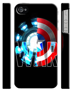 Captain America: Civil War Iphone 4 4s 5 5s 5c 6 6S 7 + Plus Case Cover 3