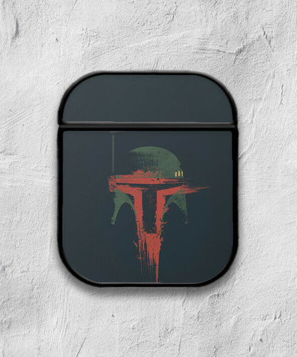 Star Wars Boba Fett case for AirPods 1 or 2 protective cover skin