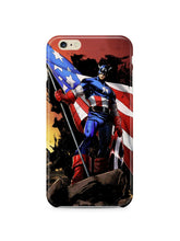 Load image into Gallery viewer, Captain America Avengers Iphone 4 4s 5 5s 5c 6 6S 7 + Plus Cover Case Comics ip1