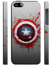 Load image into Gallery viewer, Captain America Avengers Iphone 4 4s 5 5s 5c SE 6 6S 7 8 X XS Max XR Plus Case