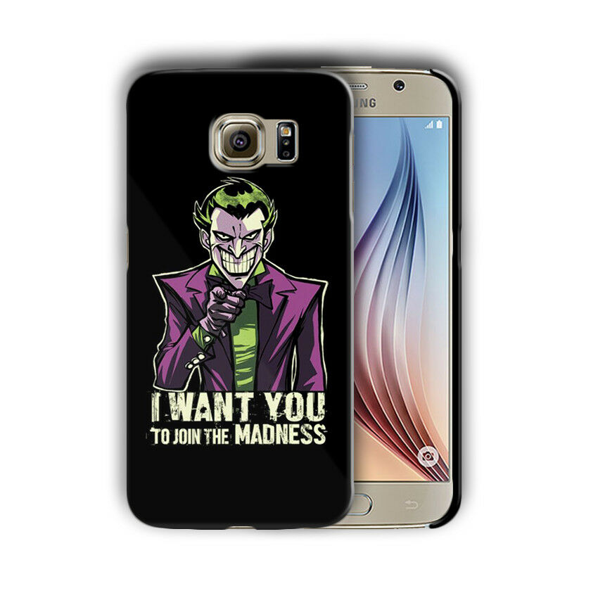 Villain Joker Samsung Galaxy S4 5 6 7 8 9 10 E Edge Note 3 - 10 Plus Case nn10