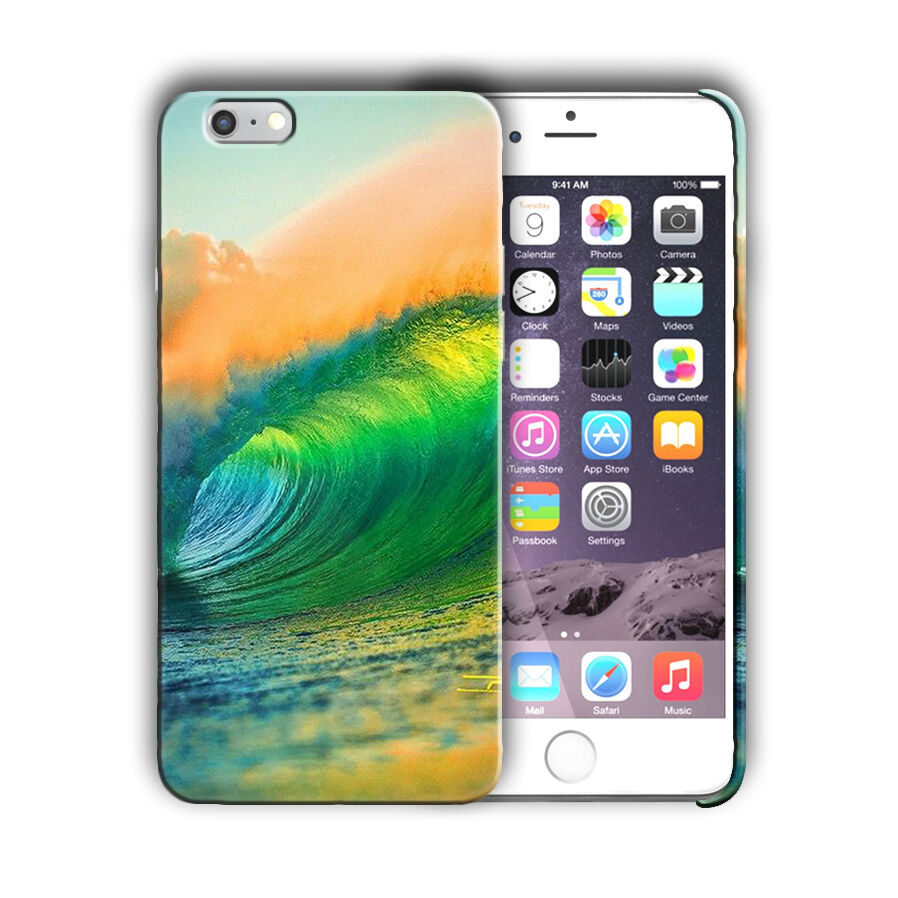 Extreme Sports Surfing Iphone 4 4s 5 5s 5c SE 6 6s 7 8 X XS Max XR Plus Case 06