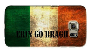 Ireland Flag Erin Go Bragh Samsung Galaxy S4 5 6 7 8 Edge Note 3 4 5 8 Plus Case