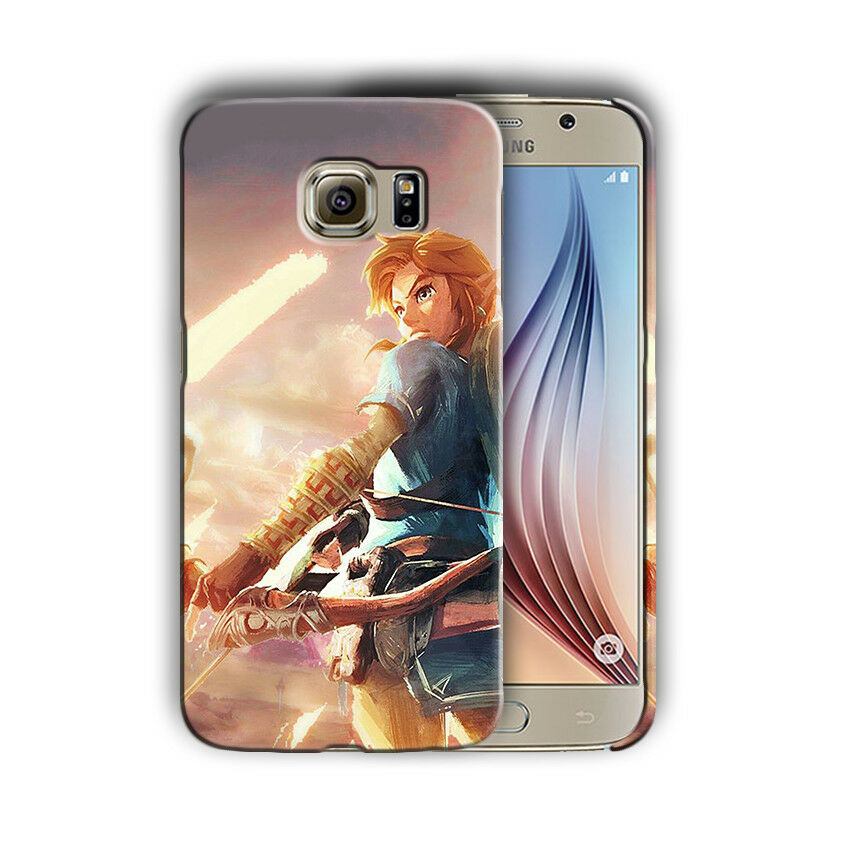 Legend Of Zelda Galaxy S4 S5 S6 S7 S8 Edge Note 3 4 5 8 + Plus Case Cover n4