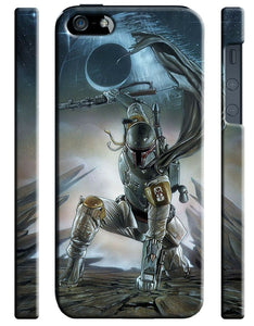 Star Wars 2015 Boba Fett Iphone 4s 5 6 7 8 X XS Max XR 11 Pro Plus Case ip4