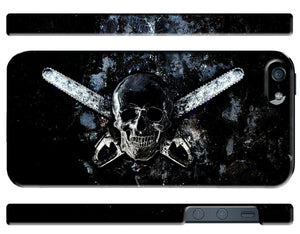Halloween Skull Texas Chainsaw Horror Iphone 4s 5 5s 5c 6 6S 7 + Plus Case Cover