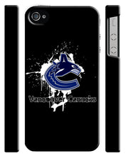 Load image into Gallery viewer, Vancouver Canucks iPhone 4S 5S 6S 7 8 X XS Max XR 11 Pro Plus SE Case Cover i2