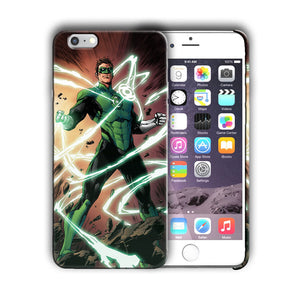Super Hero Green Lantern Iphone 4s 5 5s SE 6 7 8 X XS Max XR 11 Pro Plus Case n2