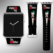 Load image into Gallery viewer, Joker Apple Watch Band 38 40 42 44 mm Fabric Leather Strap 1