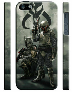 Star Wars 2015 Boba Fett Iphone 4s 5 6 7 8 X XS Max XR 11 12 Pro Plus Case ip11