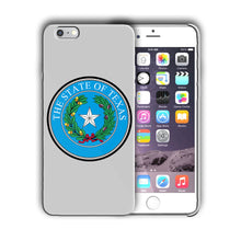 Load image into Gallery viewer, Texas State Symbols Seal Iphone 4 4s 5 5s 5c SE 6s 7 8 X XS Max XR Plus Case 04