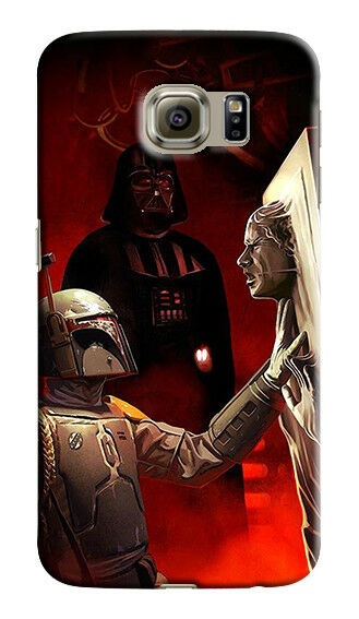 Star Wars Boba Fett Solo Samsung Galaxy S4 5 6 7 8 9 10 E Edge Note Plus Case