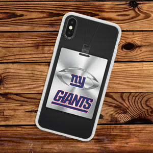 New York Giants case for iphone XR X XS Max silicone cover 5 6 7 8 plus