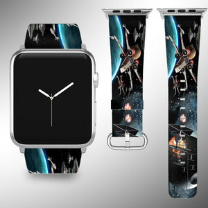 Star Wars Apple Watch Band 38 40 42 44 mm Series 5 1 2 3 4 Wrist Strap 11