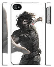 Load image into Gallery viewer, Captain America Civil War Winter Soldier Iphone 4s 5s 5c SE 6S 7 8 X Plus Case 2