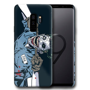 Villain Joker Samsung Galaxy S4 5 6 7 8 9 10 E Edge Note 3 - 10 Plus Case nn11