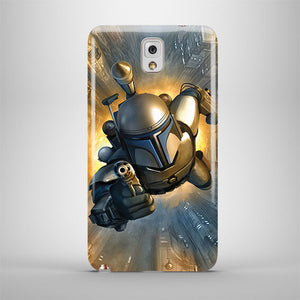 Star Wars Boba Fett Samsung Galaxy S4 S5 S6 Edge Note 3 4 5 + Plus Case 148