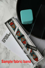 Load image into Gallery viewer, Bape Shark Apple Watch Band 38 40 42 44 mm Series 1 - 5 Fabric Leather Strap 4