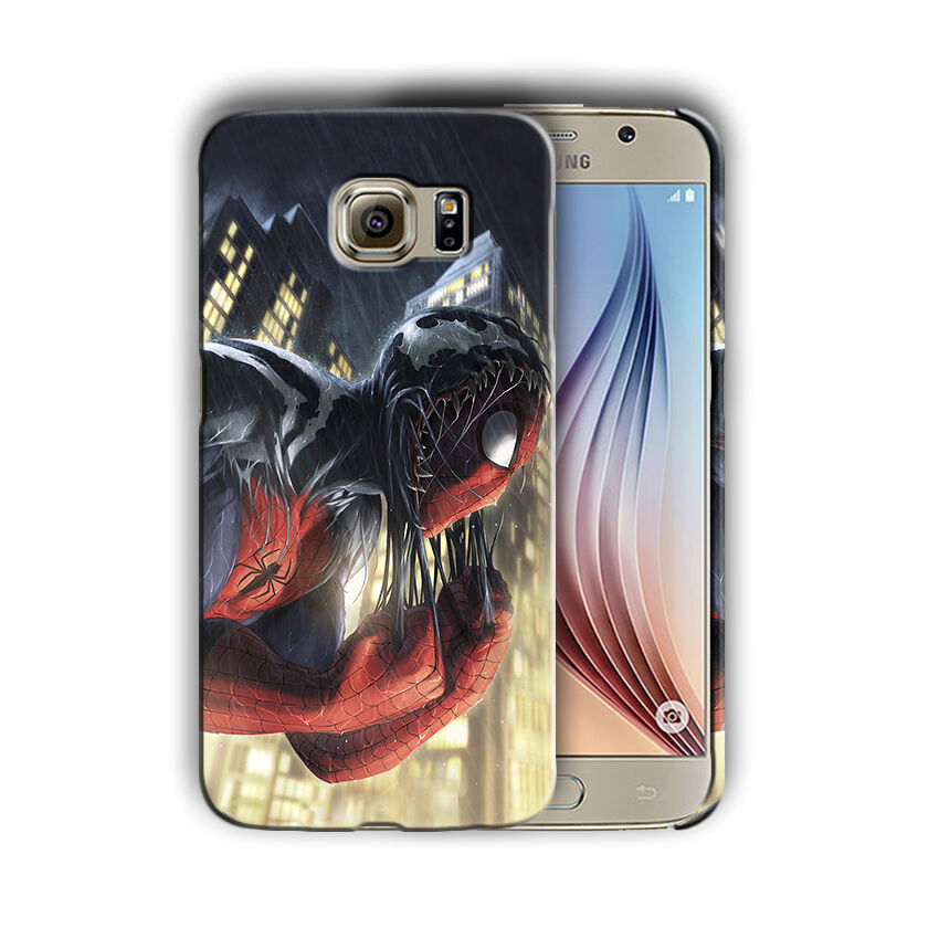 Super Hero Spider-Man Samsung Galaxy S4 5 6 7 8 9 10 E Edge Note Plus Case 11
