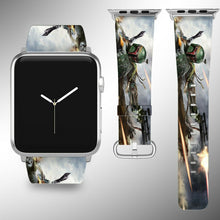 Load image into Gallery viewer, Star Wars Apple Watch Band 38 40 42 44 mm Fabric Leather Strap 2