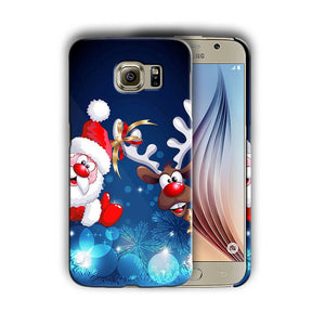 Santa Claus Christmas Samsung Galaxy S4 5 6 7 8 9 10 E Edge Note Plus Case 4
