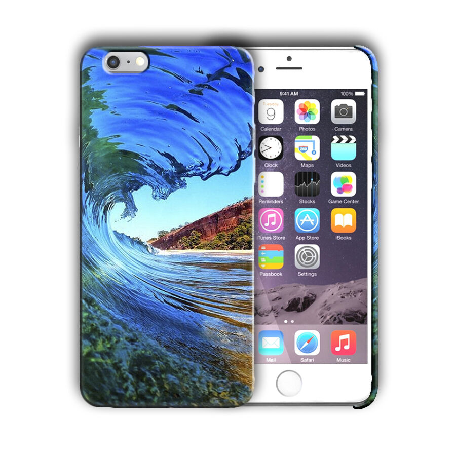 Extreme Sports Surfing Iphone 4 4s 5 5s 5c SE 6 6s 7 + Plus Case Cover 10
