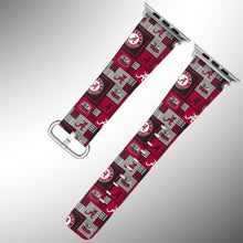 Load image into Gallery viewer, Alabama Crimson Tide Apple Watch Band 38 40 42 44 mm Series 1 - 5 Wrist Strap 2