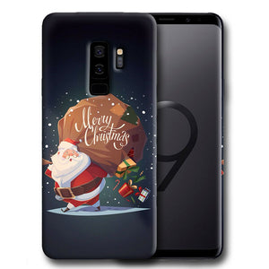 Santa Claus Christmas Samsung Galaxy S4 5 6 7 8 9 10 E Edge Note Plus Case 7