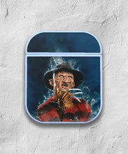 Load image into Gallery viewer, Halloween Freddy Krueger case for AirPods 1 or 2 protective cover skin