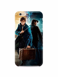 Fantastic Beasts Newt Scamander iPhone 4S 5S 5c 6S 7 8 X XS Max XR Plus SE Case
