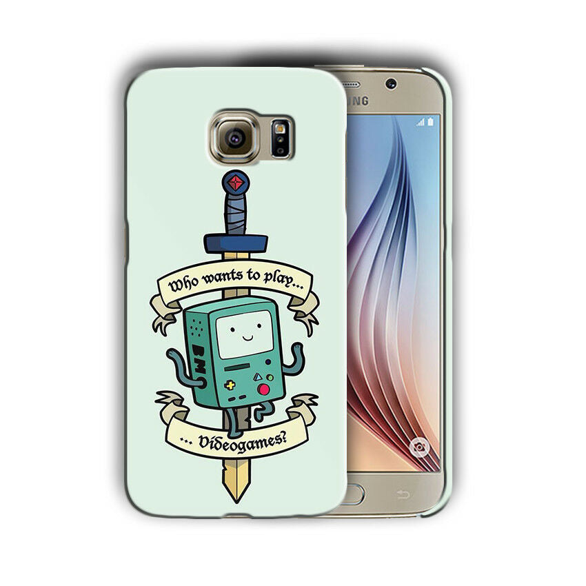 Adventure Time Samsung Galaxy S4 5 6 7 8 9 10 E Edge Note 3 4 5 8 9 Plus Case 01
