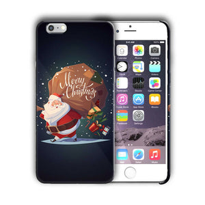 Santa Claus Christmas iPhone 5S 5c 6 6S 7 8 X XS Max XR Plus SE Case Cover 7