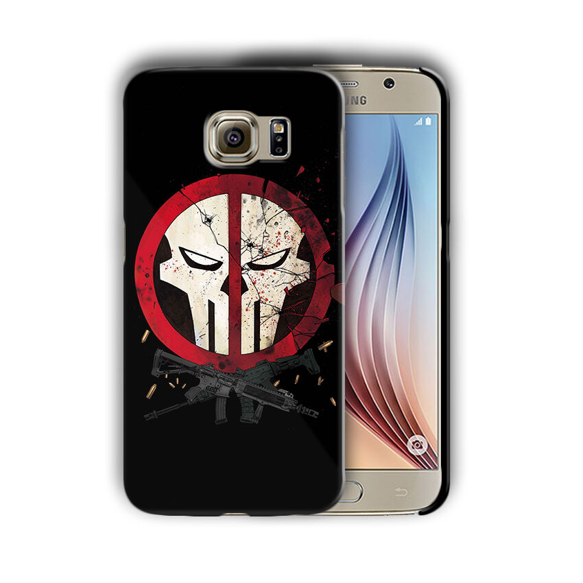 Super Hero Punisher Samsung Galaxy S4 S5 S6 S7 S8 Edge Note 3 4 5 Plus Case n4