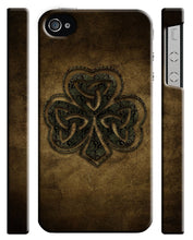 Load image into Gallery viewer, Ireland Irish Clover Shamrock iPhone 4S 5S 6S 7 8 X XS Max XR 11 Pro Plus Case 2
