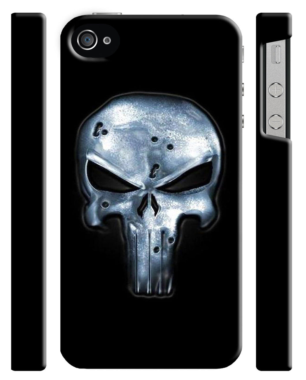 Iphone 4s 5 5s 5c 6 6S 7 8 X XS Max XR Plus Hard Cover Case The Punisher Logo