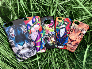 Animals Angry Wolf Iphone 4 4s 5 5s 5c SE 6 6S 7 + Plus Case Cover 05