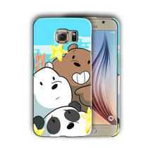 Load image into Gallery viewer, We Bare Bears Samsung Galaxy S4 5 6 7 8 9 10 E Edge Note 3 4 5 8 9 Plus Case 09