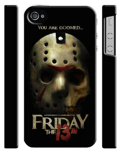 Halloween Friday 13th Jason Iphone 4s 5s 6s 7 8 X XR 11 Pro Max Plus Case SE 08