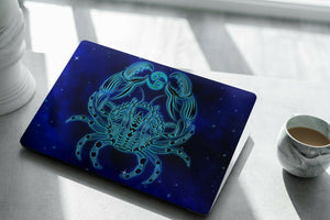 Horoscope Cancer MacBook case for Mac Air Pro M1 13 16 Cover Skin SN197