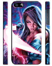 Load image into Gallery viewer, X-Men: Apocalypse Psylocke iPhone 4S 5S 5c 6 6S 7 8 X XS Max XR Plus SE Case 1