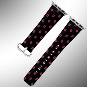 Ohio State Buckeyes Apple Watch Band 38 40 42 44 mm Series 1 - 5 Wrist Strap 6