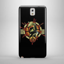 Load image into Gallery viewer, Star Wars Boba Fett Logo Samsung Galaxy S4 5 6 7 8 Edge Note 3 4 5 Plus Case 130