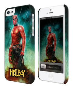 Iphone 4s 5s 5c SE 6S + Plus Case Cover Hellboy Character Comics 7