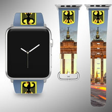 Load image into Gallery viewer, Germany Coat of Arms Apple Watch Band 38 40 42 44 mm Series 1 - 5 Wrist Strap