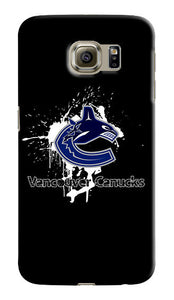 Vancouver Canucks Samsung Galaxy S4 5 6 7 8 Edge Note 3 4 5 8 Plus Case Cover s2