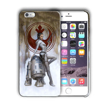 Load image into Gallery viewer, Star Wars R2-D2 Leia Iphone 4s 5 SE 6 7 8 X XS Max XR 11 12 Pro Plus Case n59