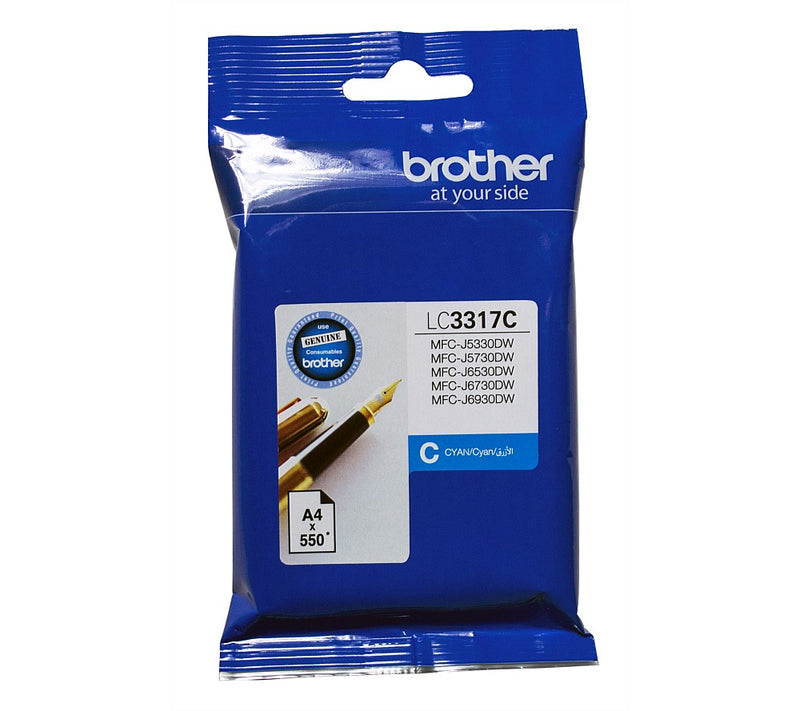 Brother Ink Cartridge Cyan